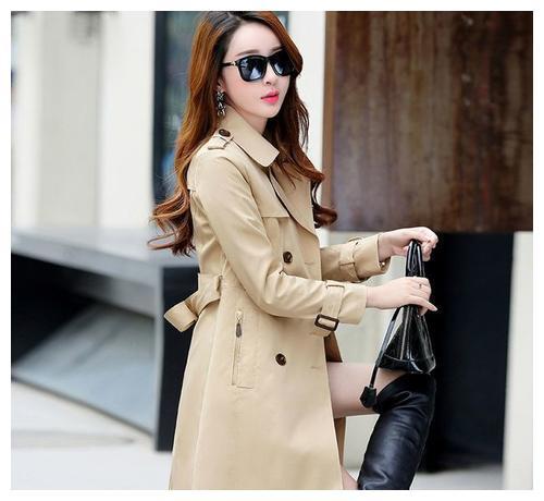 分享一下当今最流行的风衣,穿搭气质迷人,穿出都市女性既视感