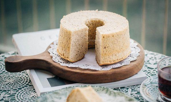 木糖醇伯爵红茶芝士炼奶戚风蛋糕