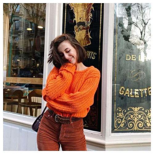 毛衣搭配牛仔裤有多美?参考这些美女的经验,魅力十足!