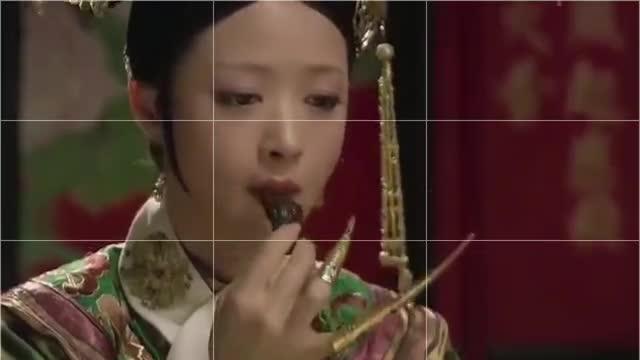 甄嬛传:华妃为了催吐,竟然狂吃酸黄瓜,吃到最后都哭了