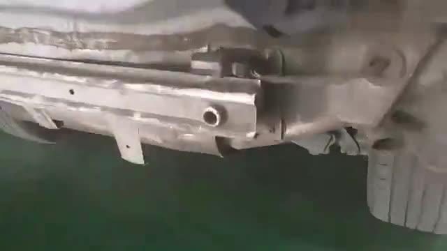 视频:销量神车哈弗H6的后防撞梁