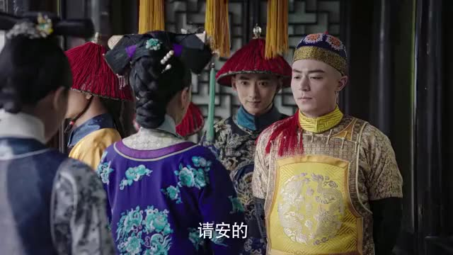 如懿面见皇后,不料皇后却趁机嘲笑她,如懿三言两语气哭她!
