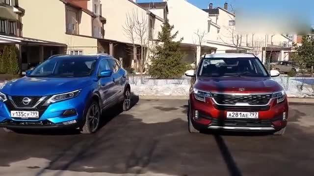 视频:2020款日产逍客与2020款起亚KX3傲跑实车对比,怎么选做个参考