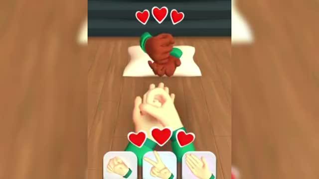 鱿鱼游戏:木头人用炮弹攻击塔米,还要用铅球投篮,太难了!