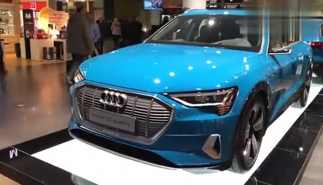 视频:奥迪纯电汽车e-tron全方位展示,和