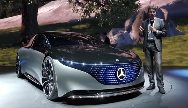 视频:法兰克福车展回顾,奔驰EQSconcept