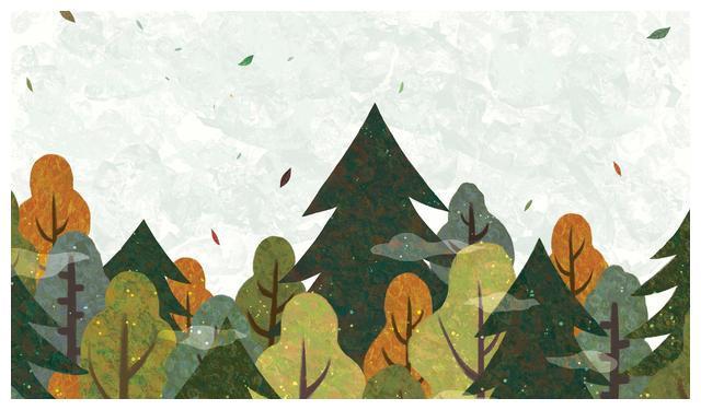 描写森林意境的诗句
