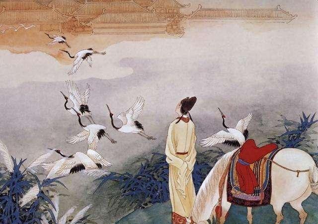 刘禹锡和杜牧的怀古诗实在精彩,这首元曲中多用两人诗句