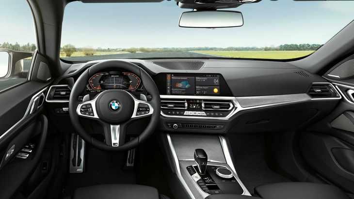宝马全新4系Gran Coupe官图发布 M440i车型有点帅!