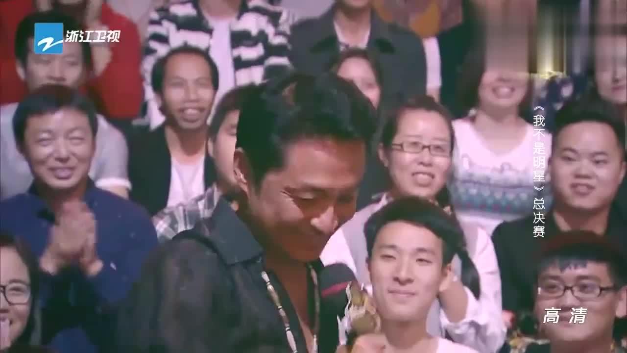 我不是明星:马景涛从没看过老婆跳舞,感谢妻子送他的礼物