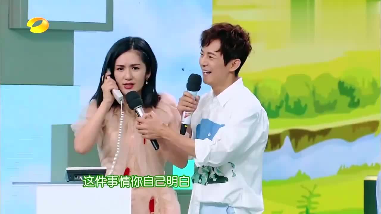 千万别让谢娜刘宪华同台,这塑料普通话笑翻全场,姐弟恋戏太多!