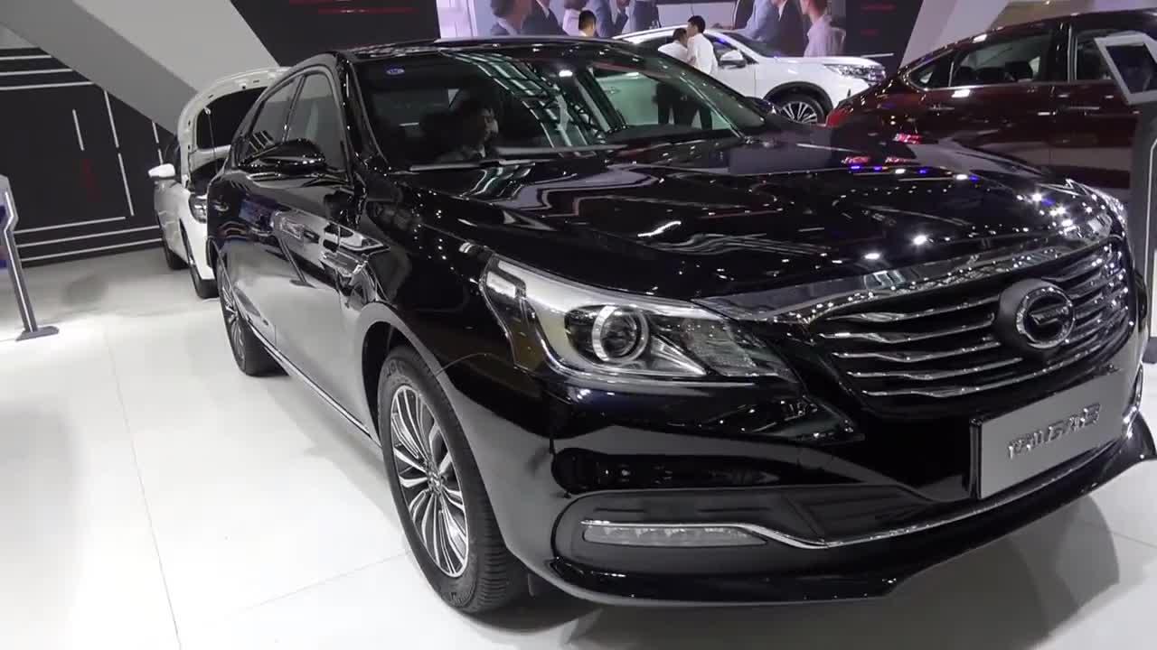 视频:国际车展传祺GA8,内饰高级舒适,车长5米轴距2.9米,配6AT
