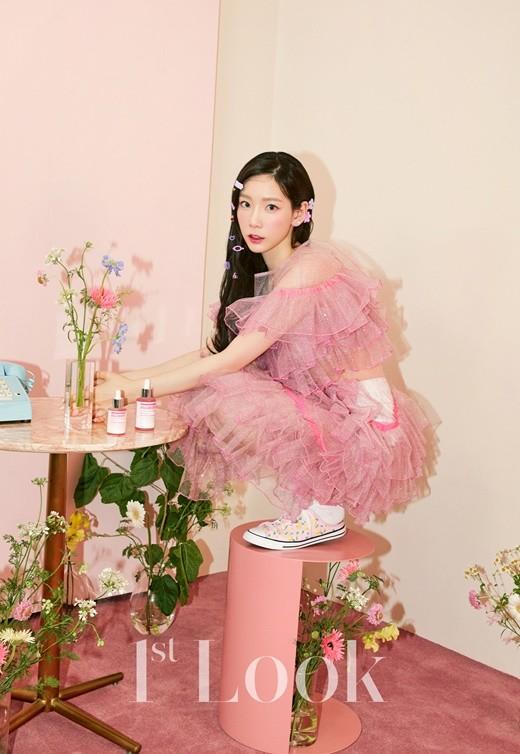 偷窥少女时代金泰妍的一天?公开时尚杂志《1st Look》202号写真