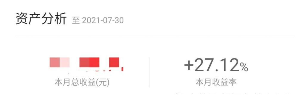 7月炒股收益记录,A股大跌真是噩梦