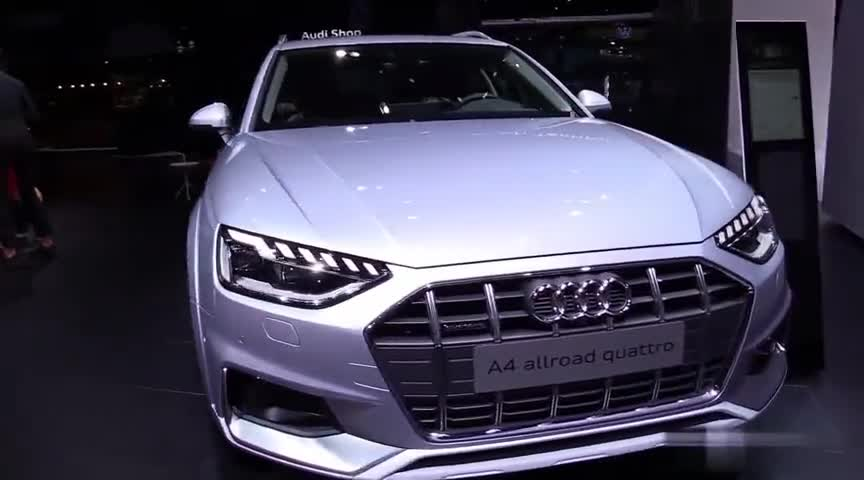 视频:2020款奥迪A4Quattro展示,打开车门看到内饰,我忘记了奔驰C!
