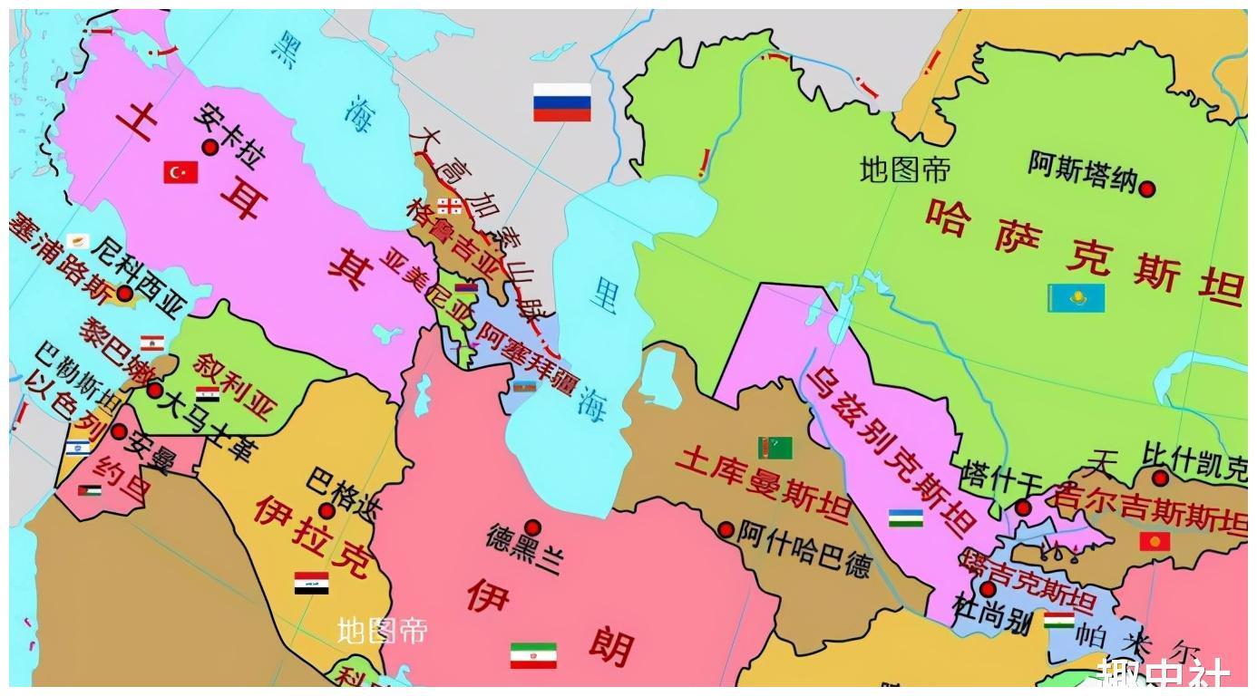 """里海:似海非海的石油""""聚宝盆"""",美俄的""""湖海之争"""""""