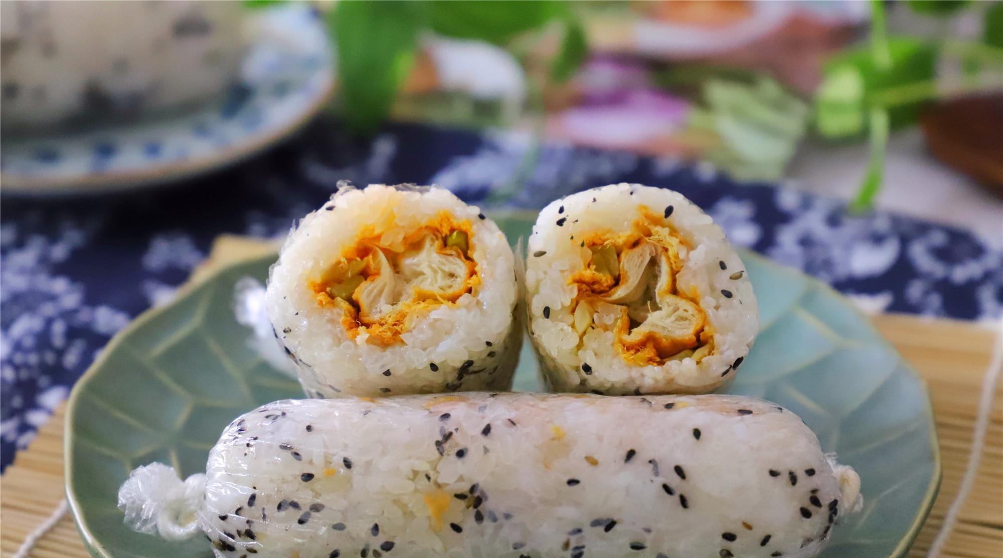 糯米最经典的做法,百吃不腻,随手一捏,比寿司好吃,江南人最爱