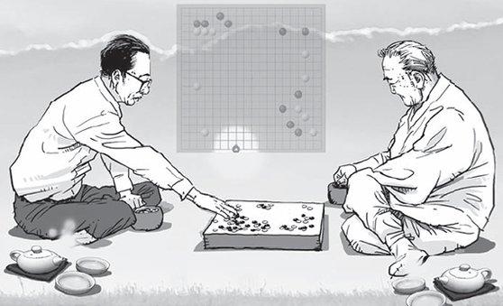 韩名记:让围棋香气重现的陈耀烨