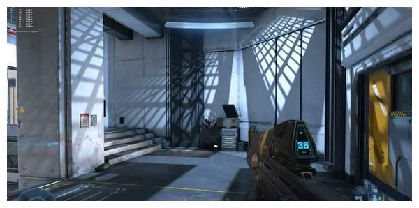 PC版《光环无限》4K、光追截图 斯巴达战士勇猛无畏