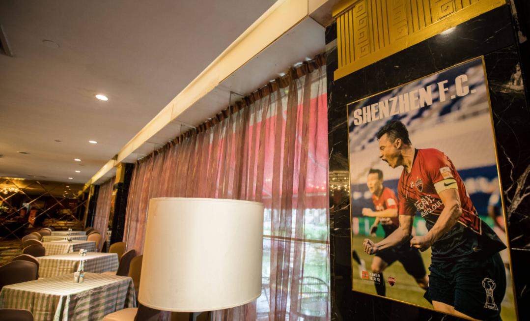 深足将会入驻广州赛区东方宾馆,一起看一下酒店的环境