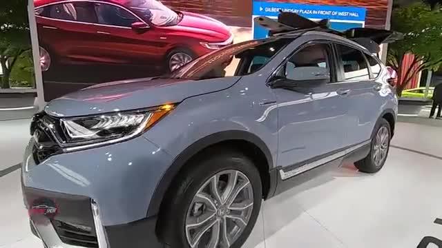 视频:混合动力版的本田CR-V到底有哪些有点?
