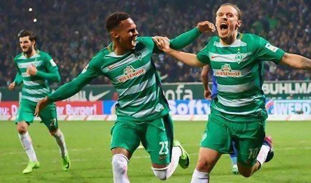 今天引荐:不莱梅 VS 拜仁  拜仁赢球即可创下德甲八连冠伟业