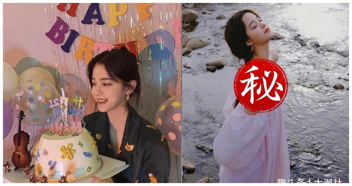 欧阳娜娜21岁大解放,晒事业线宣告已经成年了