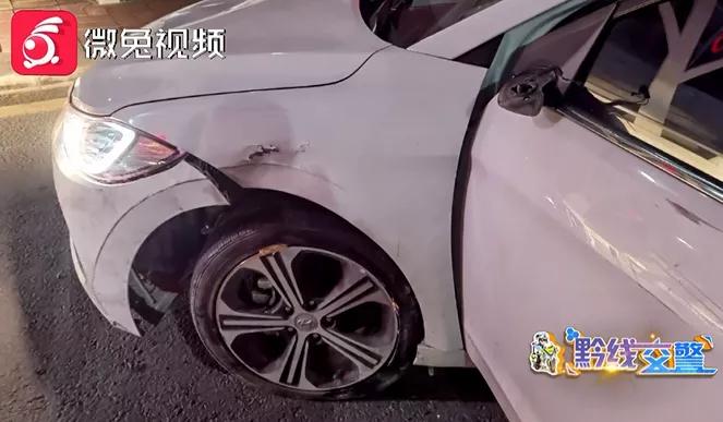 男子驾车在路口昏睡40分钟!被交警唤醒后,强行驾车逃跑