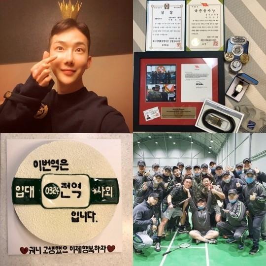 2AM的赵权结束军队服役后退役 在SNS向粉丝报告不是梦吧