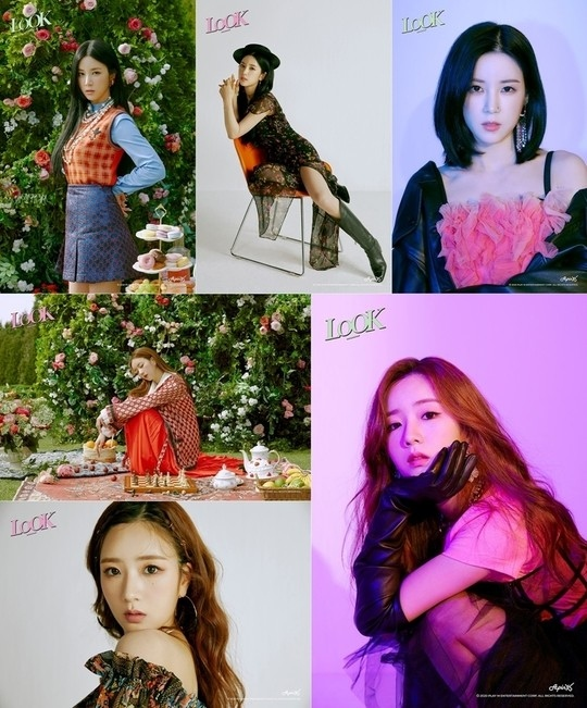Apink朴初珑&尹普美9th迷你专辑《LOOK》个人预告形象公开