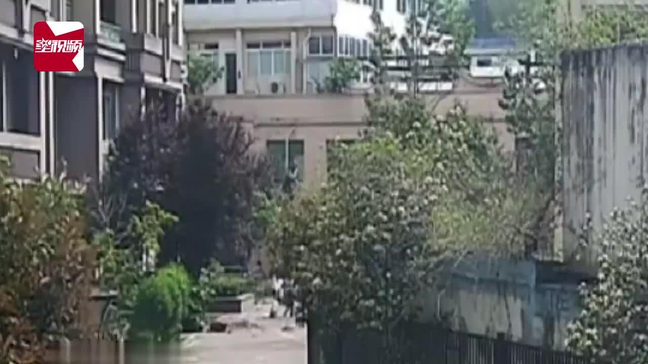 夫妻吵架从12楼扔下行李箱,楼下路人险被砸,丈夫高空抛物被逮捕