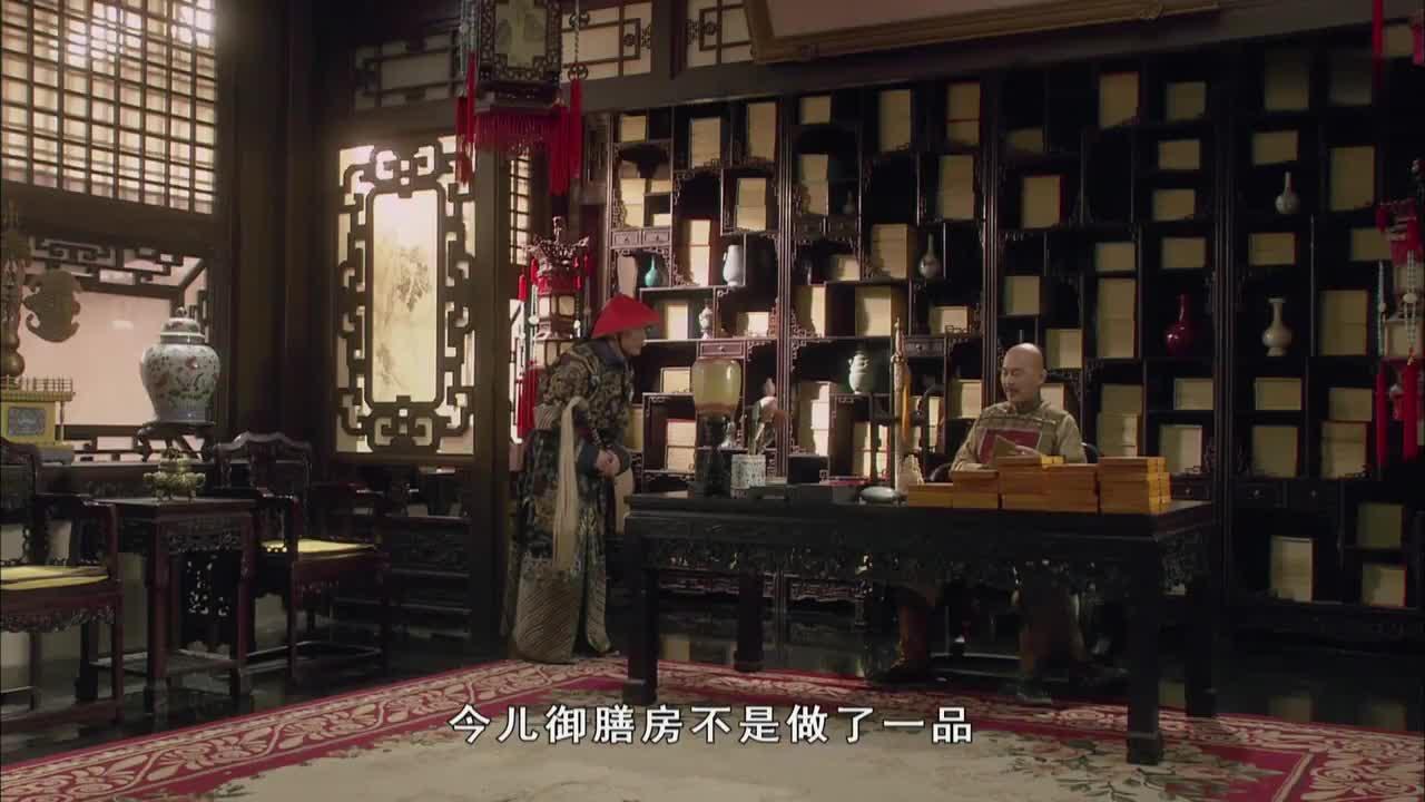 甄嬛传:华妃揣测皇上,看到皇上的样子却不敢说了