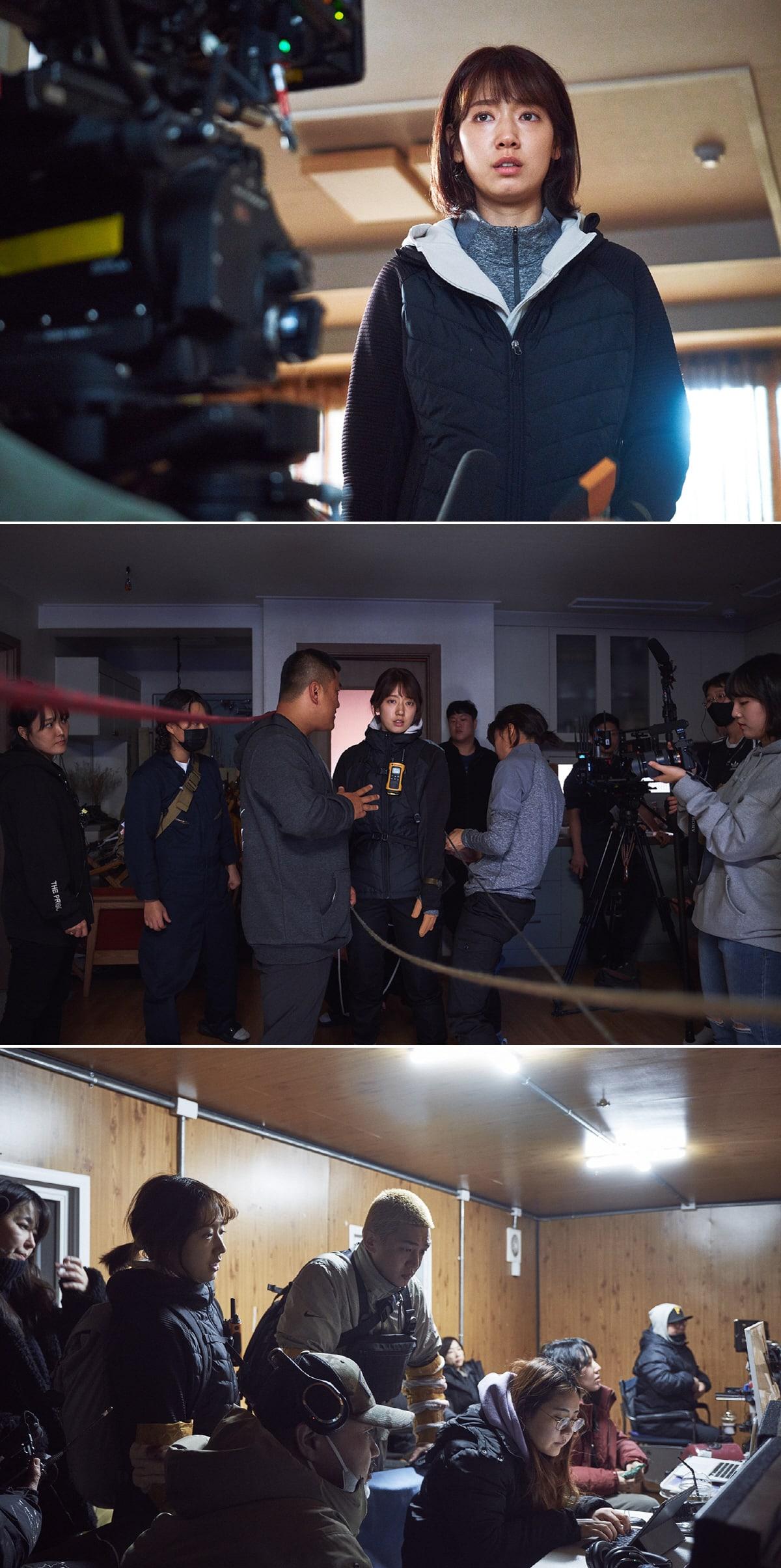 朴信惠刘亚仁合作电影 《活着》发布片场剧照