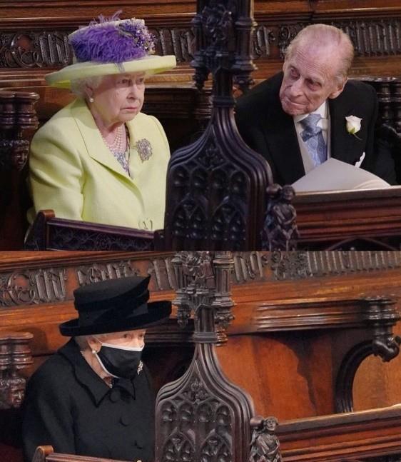 女王含泪送走亲王,棺材进入圣乔治教堂地下墓穴,他在此等待女王