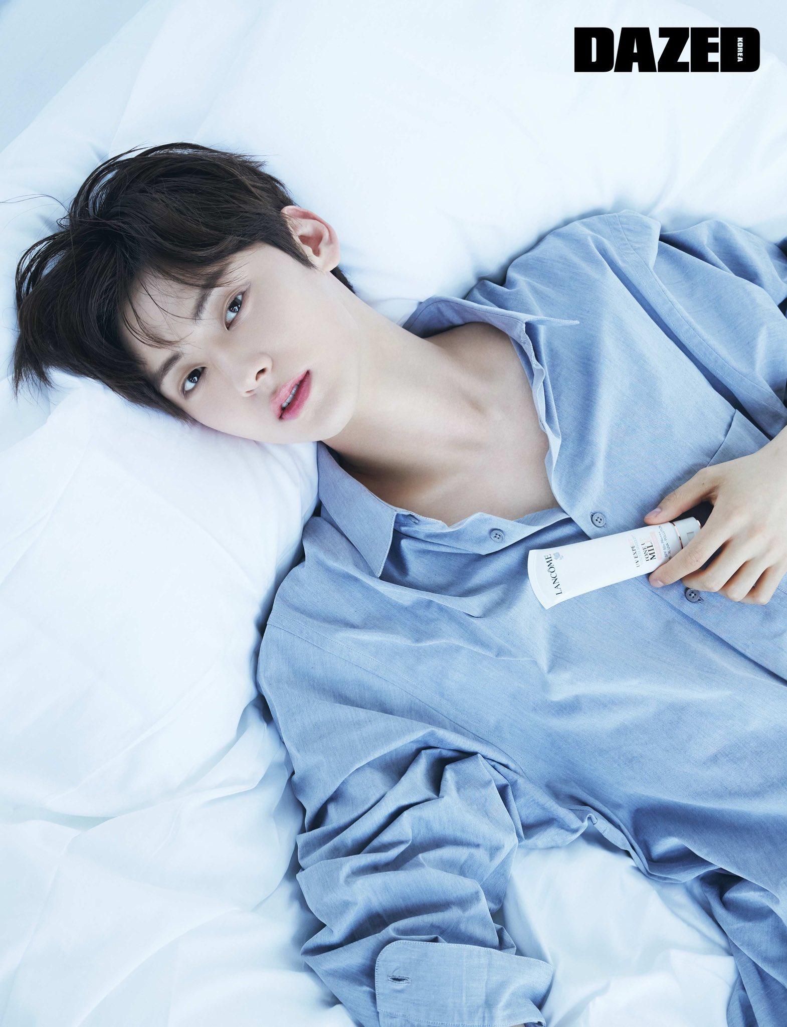 黄旼炫公开杂志写真帅图 并公开他对未来的展望