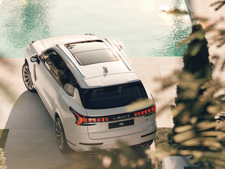 霸气十足 领克09下周全球首发 家族全新旗舰SUV