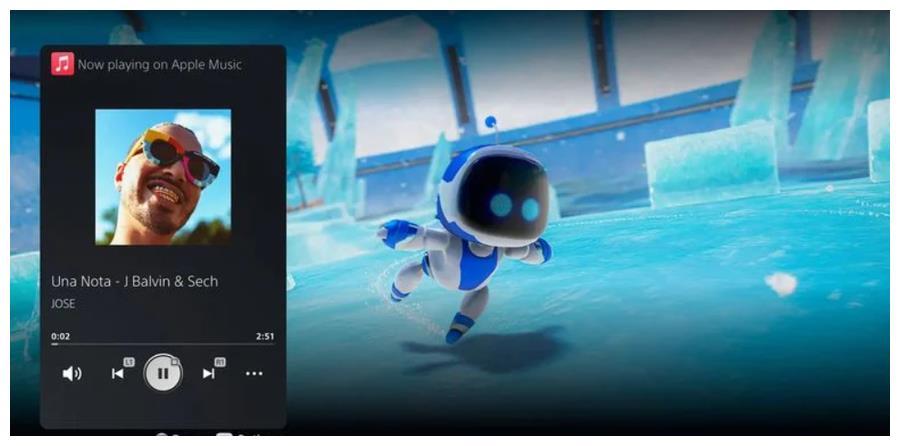 苹果 Apple Music 正式上架索尼 PS5 主机平台
