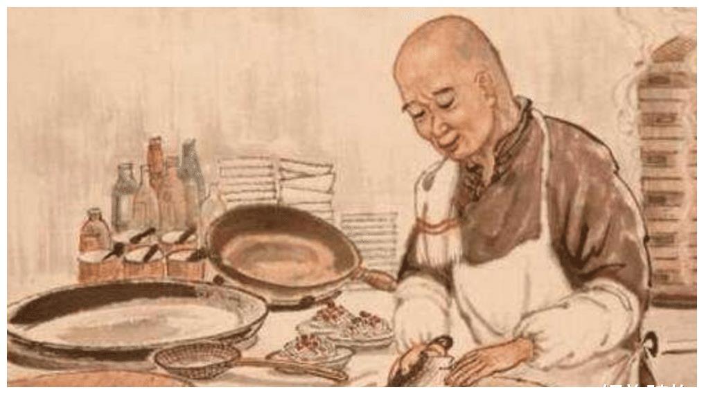 厨师一天只做十道菜,有一个老者来到酒馆,要跟他比试厨艺