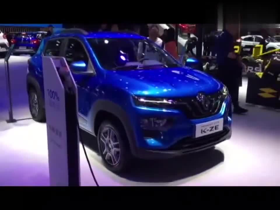 视频:直击上海车展:雷诺K-ZE