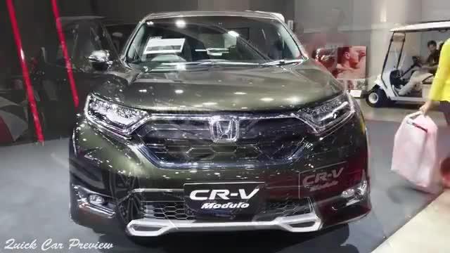 这辆海外的本田CR-V4WDModulo感觉非