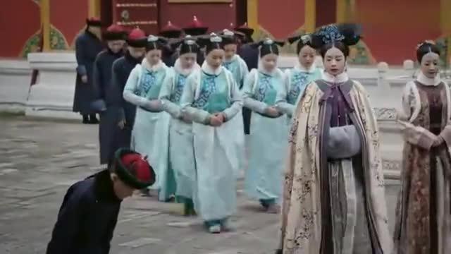 如懿传:富察皇后见眼前温馨一幕,默默离开,不愿再去打扰