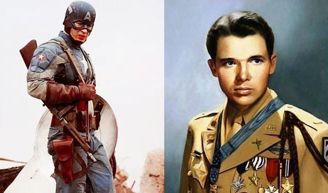 美国队长的原型就是他,身高仅165,却成为美国史上最强单兵