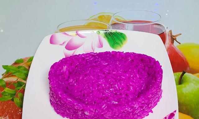 鸟巢艺术米饭,颜色诱人、颜值颇高