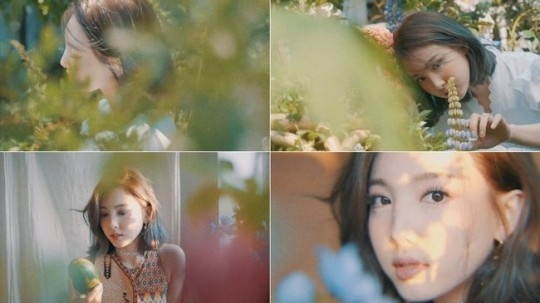 TWICE林娜琏第9张迷你专辑《MORE & MORE》概念电影&预告图公开