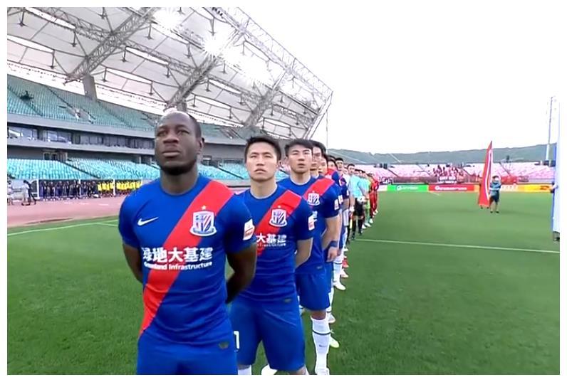 胡人天闪击,马尔康彭欣力因伤离场,河北队1-0上海申花