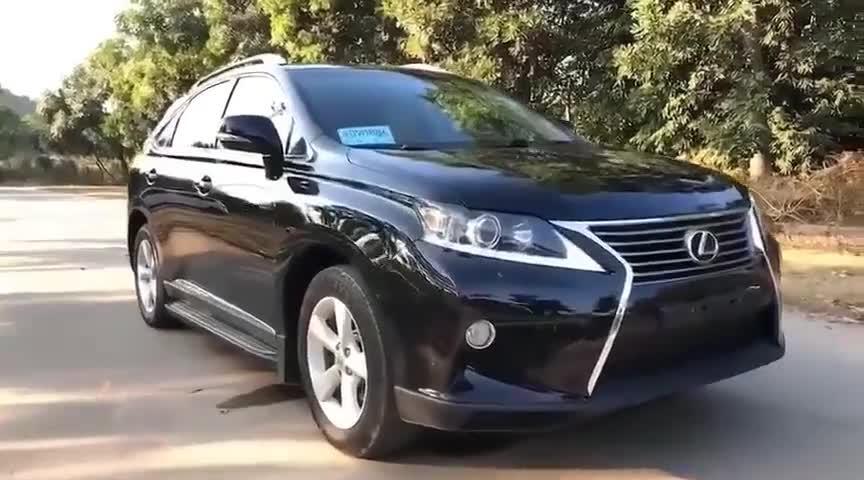视频:雷克萨斯RX350,整个村里最贵的车