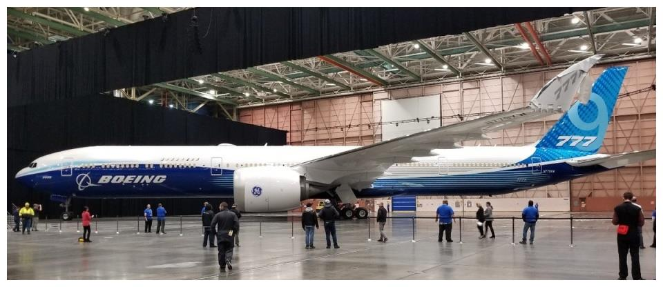 FAA:波音 777X客机可能要到 2023 年才能获得适航认证