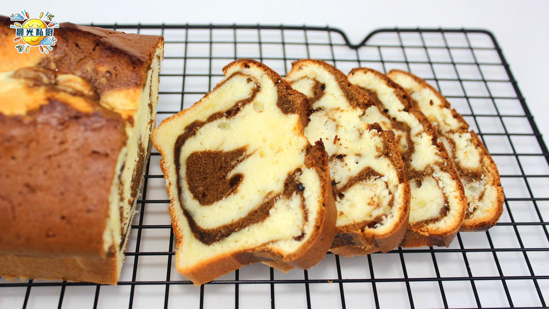 咖啡淡奶油磅蛋糕,无黄油配方,两种咖啡的巧妙融合,清爽不油腻