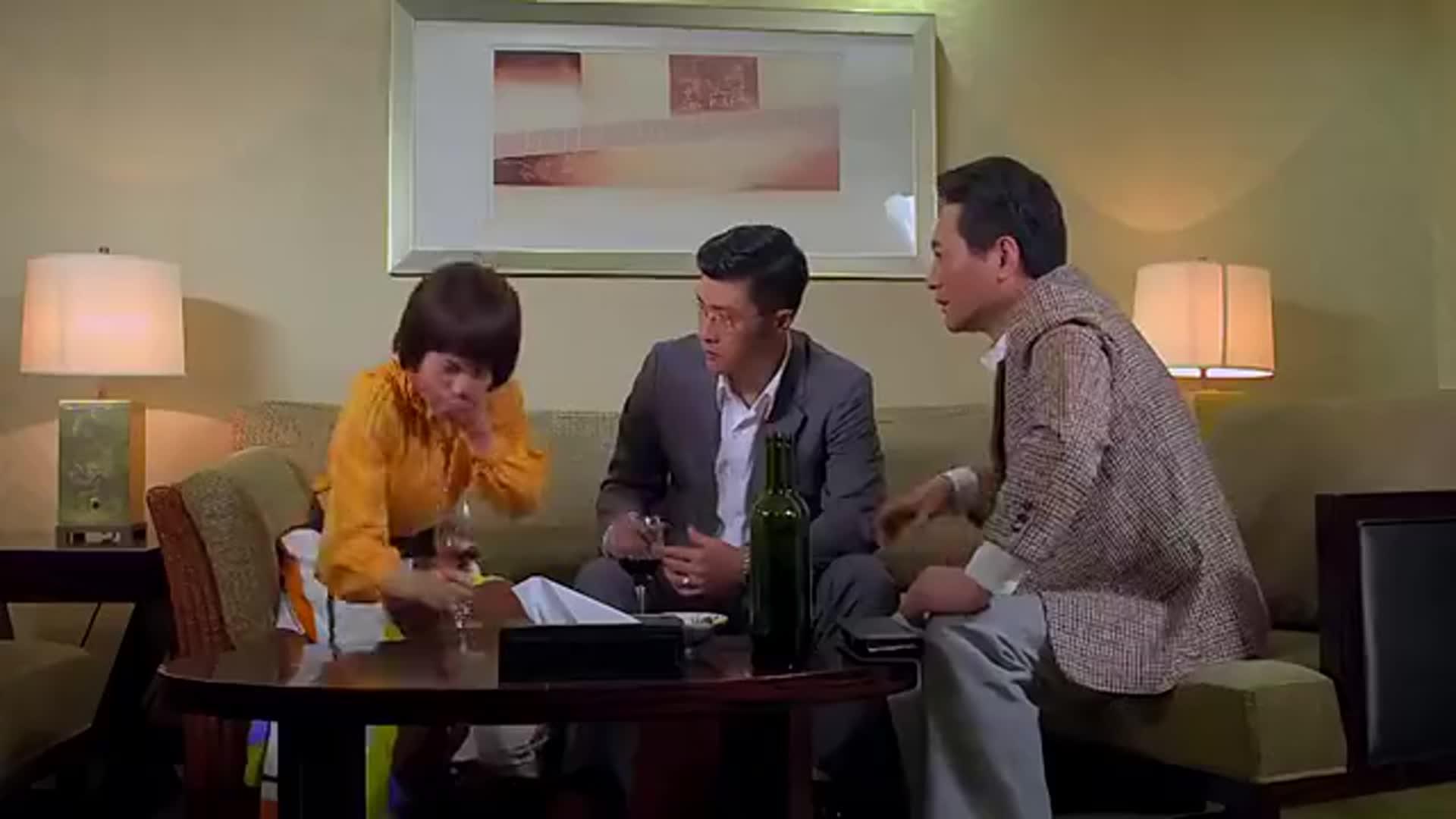 满仓进城:葛红跟邱健明在一起喝酒,不料葛红喝醉了,这下完了