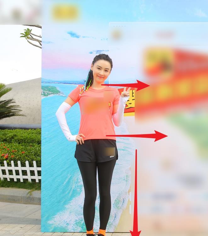 跑马拉松除了腿细点,腰就是典型的水桶腰
